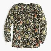 J.Crew Petite Drake's® for popover shirt in horseback rider florals