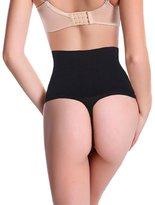 SLTY Women G-string Panty Sexy Thong Waist Trainer Cincher Tummy Control Shaper