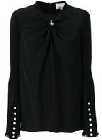 3.1 Phillip Lim gathered-front blouse