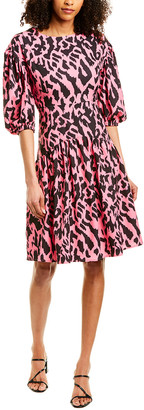 Beulah Gathered A-Line Dress