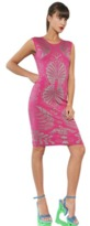 Ekaterina Kukhareva Pink Jacquard Knit Dress