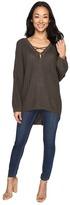 Brigitte Bailey Tate Tie-Front Sweater