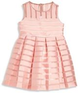 Milly Minis Toddler's & Little Girl's Illusion Stripe Pleated Dress