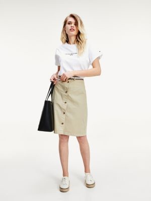 Tommy Hilfiger TH Cool Garment-Dyed Skirt
