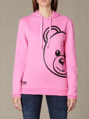 Moschino Sweatshirt With Big Teddy