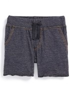 Tea Collection Toddler Boy's Denim Look Shorts