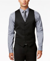 Alfani Men's Traveler Black Solid Slim-Fit Vest, Created for Macy's