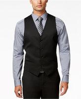 Alfani Men's Traveler Black Solid Slim-Fit Vest, Only at Macy's