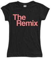 Urban Smalls Black 'The Remix' Fitted Tee - Toddler & Girls