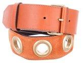 Gucci Leather Grommet Belt