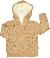 Nui Kopa Printed Hoodie - Cream/Tan, Size 6-12m