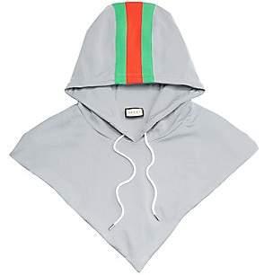 Gucci Men's Reflective G Stripe Print Hood