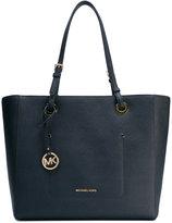 MICHAEL Michael Kors logo stamp shopping bag - women - Leather - One Size