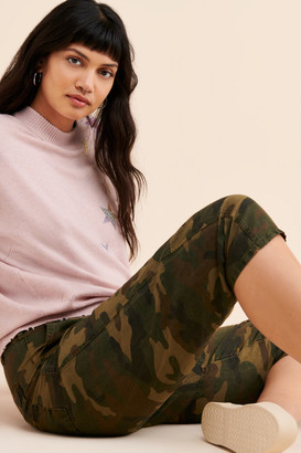 Blank NYC Camo Cropped Pant