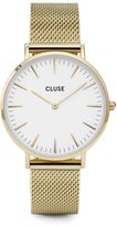 Cluse Women's La Boheme Mesh CL18109 Gold Stainless-Steel Quartz Watch