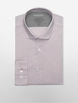 Calvin Klein X Fit Ultra Slim Fit Mini Plaid Dress Shirt