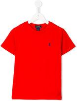 Ralph Lauren plain T-shirt - kids - Cotton - 10 yrs