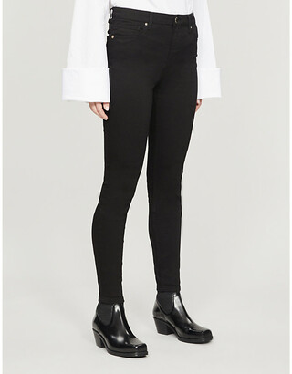 Ted Baker High-rise stretch-denim jeans