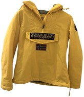 Napapijri Yellow Coat for Women