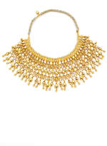 Aurelie Bidermann Heart Beaded Bib Necklace
