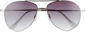 BP 53mm Geo Gradient Aviator Sunglasses