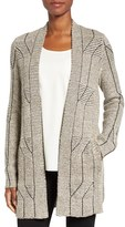 Nic+Zoe Women's Cascading Cables Knit Cardigan