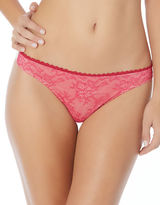 Jessica Simpson Lady In Lace Thong
