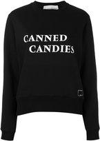 Paco Rabanne Canned Candies sweatshirt - women - Cotton/Polyester - 34