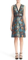 Etro Women's Brocade Fit & Flare Dress