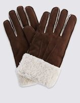 Marks and Spencer Faux Shearling Gloves