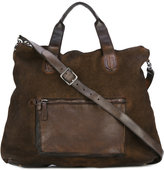Numero 10 leather-trimmed bag