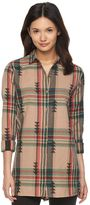 Woolrich Women's First Light Dobby Jacquard Shirt