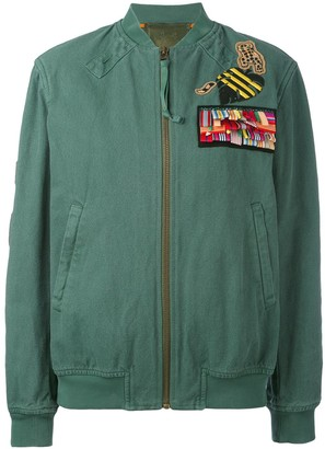 Mr & Mrs Italy bomber with patches