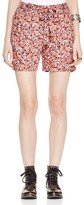 Free People Layla Floral Print Shorts