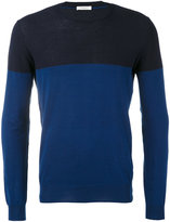 Paolo Pecora colour block jumper - men - Cotton - S