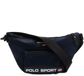 Polo Ralph Lauren Logo-Appliqued Cross Body Bag