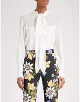 Erdem Isabelle silk-chiffon blouse