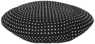 Saint Laurent Embellished Wool Basco Hat