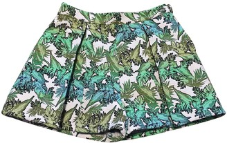 DEPARTMENT 5 Green Cotton Shorts for Women