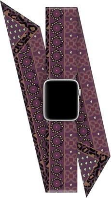 Wristpop Black Cherry 38mm/40mm Apple Watch Scarf Watch Band