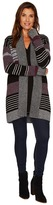 Pendleton Cozy Stripe Cardigan Women's Sweater