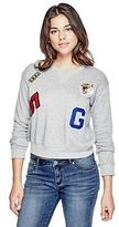 G by Guess GByGUESS Women's Kelcy Patches Sweatshirt