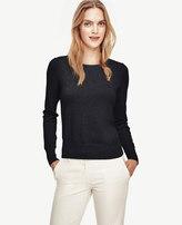 Ann Taylor Petite Button Cuff Sweater