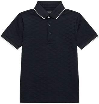 Emporio Armani Jacquard Logo Polo Shirt