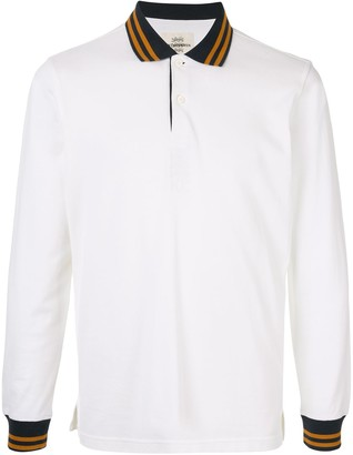 Kent & Curwen contrasting polo shirt