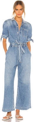 Citizens of Humanity Robyn Knot Sleeve Jumpsuit. - size L (also