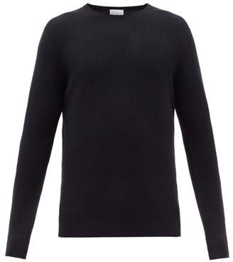 Raey Crew-neck Cashmere Sweater - Mens - Navy