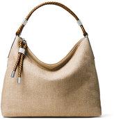 Michael Kors Skorpios Top-Zip Shoulder Bag, Dune