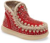 Mou Summer Eskimo Embellished Sneaker Boot