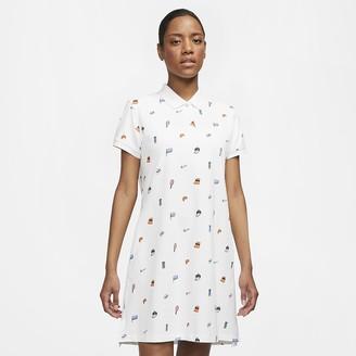 Nike Women's Printed Dress The Polo